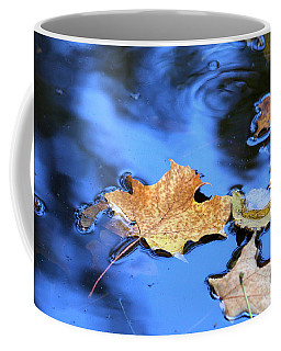Coffee Mug featuring the photograph Floating On The Reflected Sky by Doris Potter