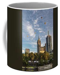 Floating Over Melbourne Coffee Mug