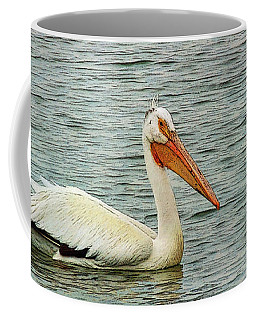 Floating Pelican Coffee Mug by Krista-