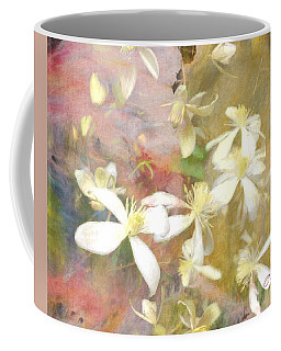 Floating Petals Coffee Mug by Colleen Taylor