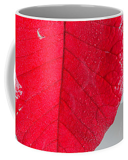 Floating Red Leaf 2 Coffee Mug