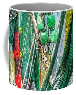 Floats Ropes And Nets Coffee Mug