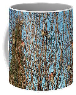 Flock Of Finches Coffee Mug