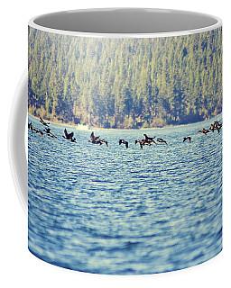 Flock Of Geese Coffee Mug