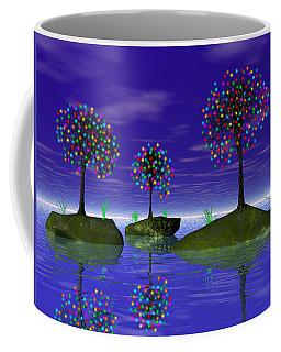 Floob Islands Coffee Mug by Mark Blauhoefer