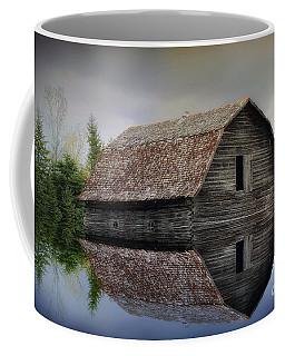 Flooded Barn Coffee Mug