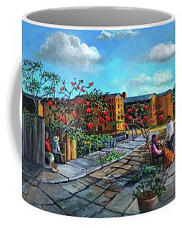 Flor De Noche Buena Coffee Mug