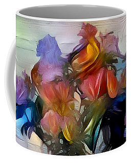 Floral Abstract Coffee Mug by Jim Pavelle