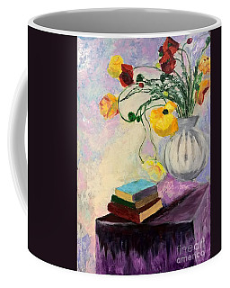Floral Abstract Coffee Mug
