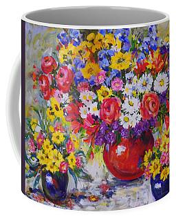Floral Abundance Coffee Mug