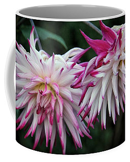 Coffee Mug featuring the photograph Floral Explosion by Patricia Strand