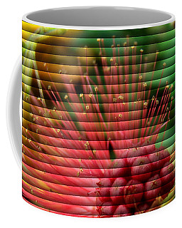Floral Fan Coffee Mug