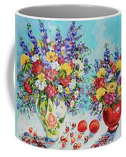 Floral Fantasy Coffee Mug by Alexandra Maria Ethlyn Cheshire