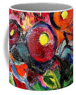 Floral Fiesta With Hola Coffee Mug