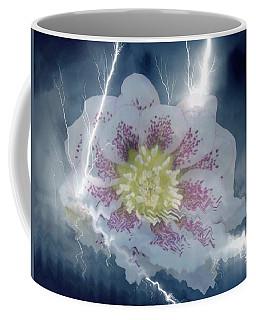 Floral Lightning Reflections Coffee Mug