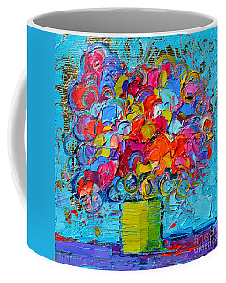 Floral Miniature - Abstract 0415 Coffee Mug