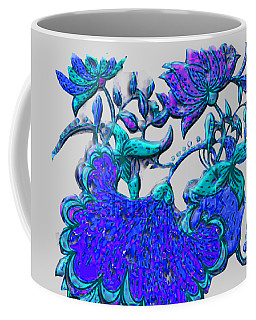 Floral Motif Remake Coffee Mug