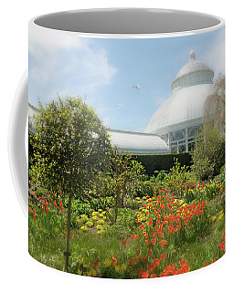 Coffee Mug featuring the photograph Floral Notes by Diana Angstadt