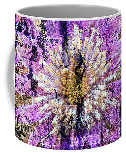 Floral Poetry Of Time Coffee Mug