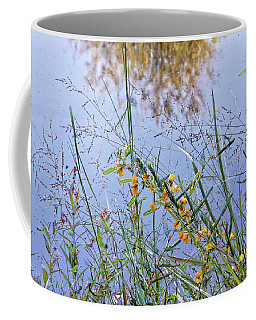 Floral Pond  Coffee Mug