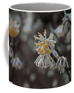 Coffee Mug featuring the painting Floral Print 099 by Chris Flees