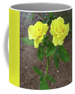 Coffee Mug featuring the painting Floral Print 101 by Chris Flees