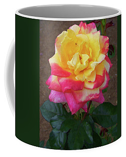 Coffee Mug featuring the painting Floral Print 104 by Chris Flees