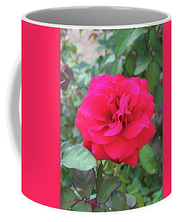 Coffee Mug featuring the painting Floral Print 107 by Chris Flees