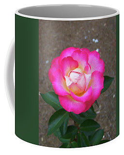 Coffee Mug featuring the painting Floral Print 109 by Chris Flees