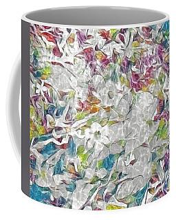 Floral Rainbow Coffee Mug