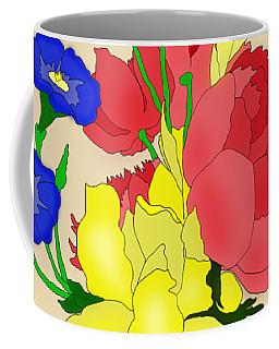 Floral Still Life 1674 Coffee Mug