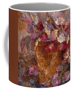 Floral Still Life Pinks Coffee Mug