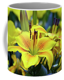 Floral Sunshine Coffee Mug
