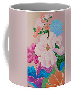 Floral Symphony Coffee Mug by Irene Hurdle