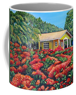 Floral Takeover Coffee Mug by Marilyn McNish