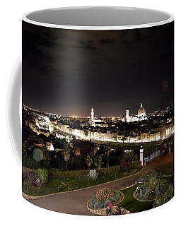 Florence At Night Coffee Mug