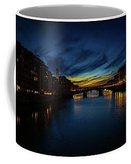 Florence At Sunset Coffee Mug