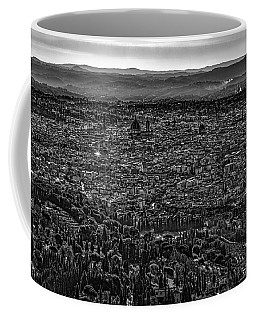 Coffee Mug featuring the photograph Florence From Fiesole by Sonny Marcyan