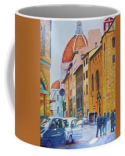 Florence Going To The Duomo Coffee Mug