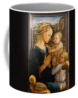 Florence - Madonna And Child With Angels- Filippo Lippi Coffee Mug