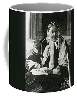 Florence Nightingale, English Nurse Coffee Mug by Science Source