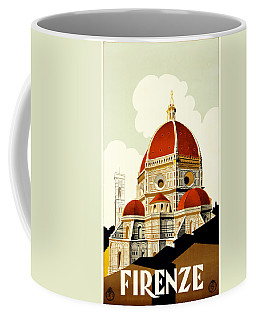 Florence Travel Poster Coffee Mug
