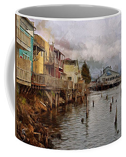 Scene On The Siuslaw  Coffee Mug