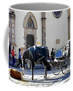 Horse And Buggy Coffee Mug