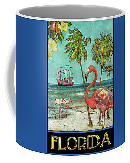 Coffee Mug featuring the photograph Florida Advertisement by Hanny Heim