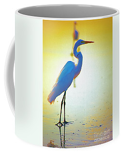 Florida Atlantic Beach Ocean Birds  Coffee Mug