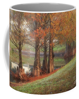 Florida Bald Cypress Coffee Mug by Marcia Lee Jones