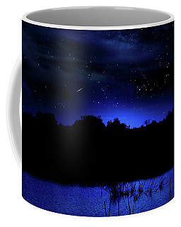 Florida Everglades Lunar Eclipse Coffee Mug
