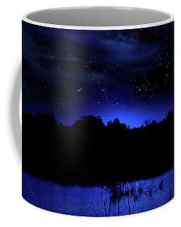 Florida Everglades Lunar Eclipse Coffee Mug