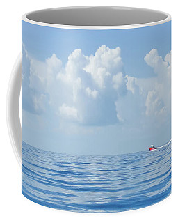 Florida Keys Clouds And Ocean Coffee Mug